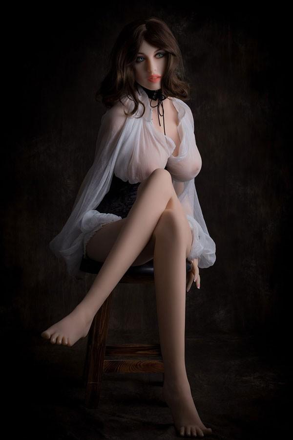 Realdoll Amanda sex doll natural large breasts mature