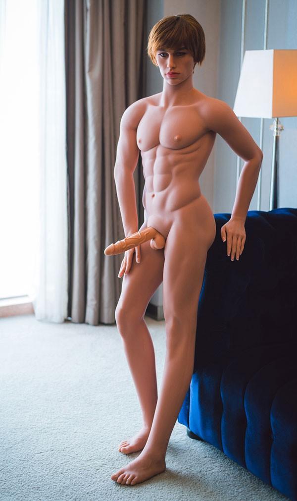 Mannelijke Real Doll Sebastiaan160cm
