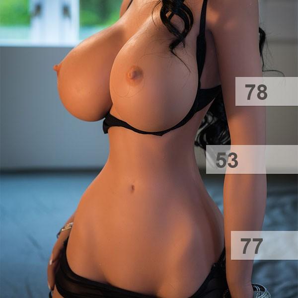 Sexy realdoll extreme curves tiny waist 155 cm DD