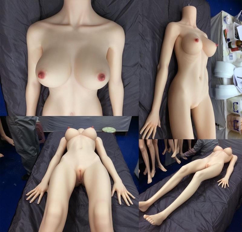 Siliconen sekspop natuurlijk figuur