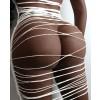 Jurkje wit stretch lingerie sekspop