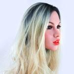 Lang blond verloop - +€100,00
